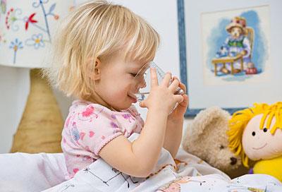 Ein Krankes Kind Muss Nicht Essen Aber Trinken Alle Infos Bei
