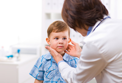 Mandelentzündung Baby