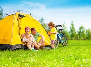 urlaub mit kindern auf dem campingplatz. Black Bedroom Furniture Sets. Home Design Ideas
