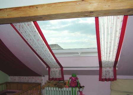 Gardinen Für Schräge Fenster gardinen an schrägem fenster u schräger decke forum mein haushalt