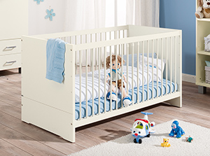 Kinderbett mitwachsend  PAIDI - Gesunder Schlaf von Anfang an!