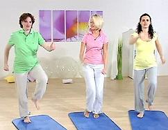 Schwangerschaftsgymnastik - Übungen für Schwangere on