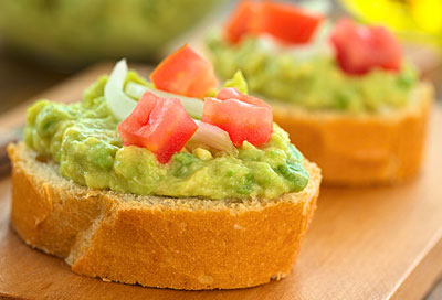 Ideal im Sommer: Avocado-Snacks